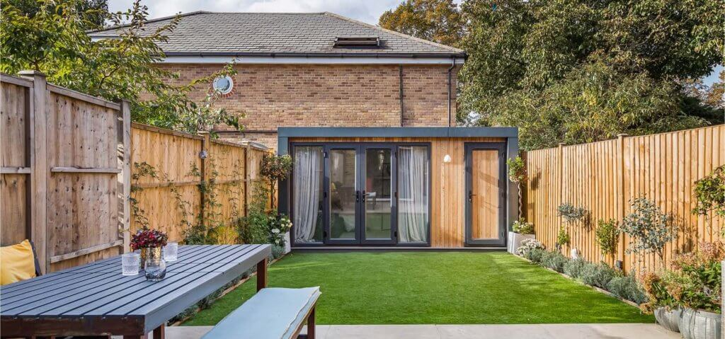 Contemporary Garden Room Annexe