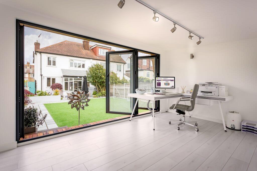 garden room interior space