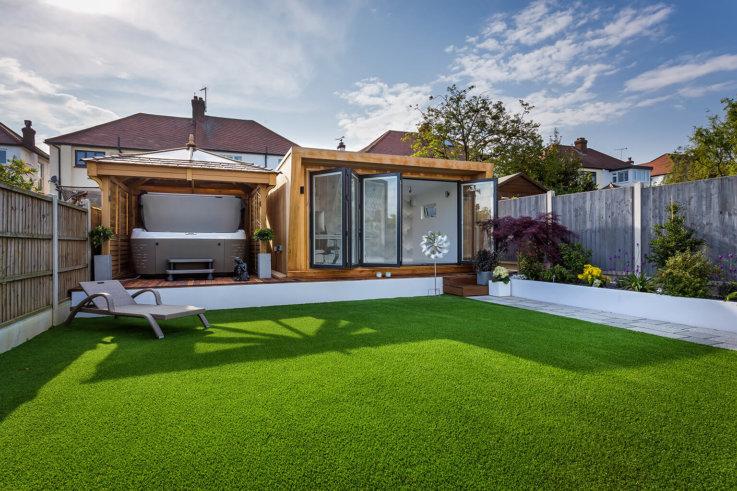 summer house as an office