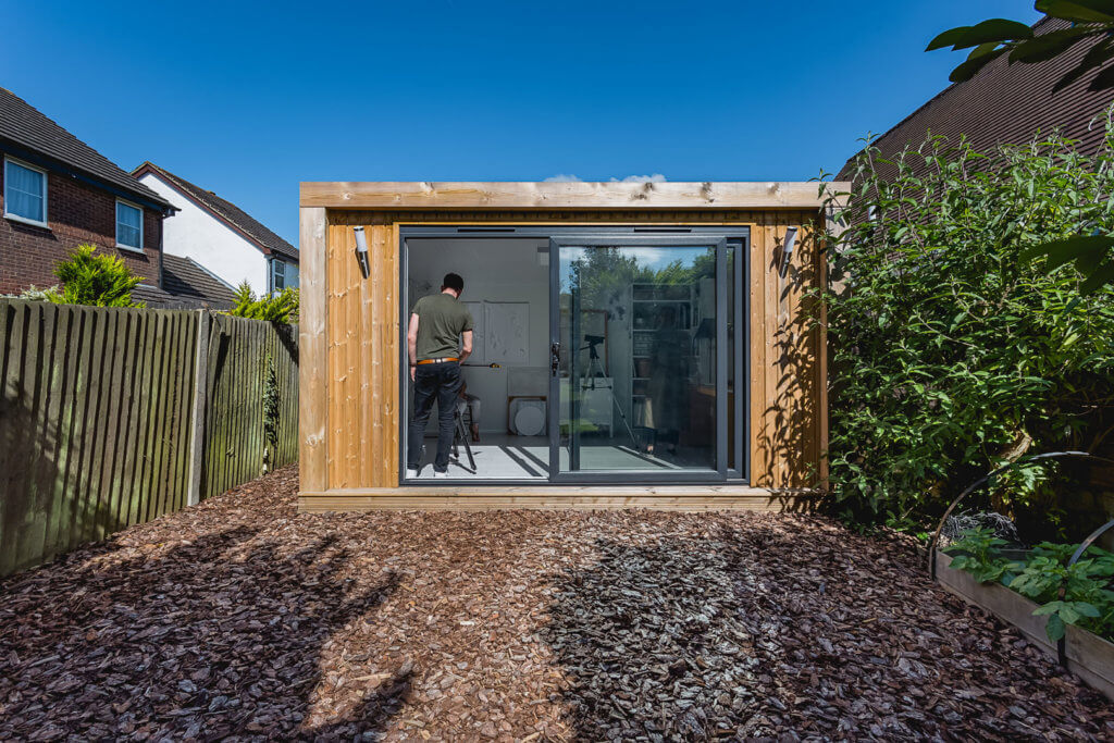 green retreats visit small garden room for a case study