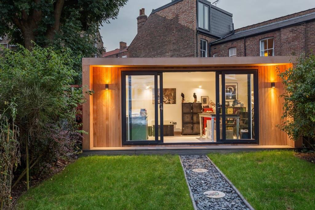 home business garden taxidermy studio