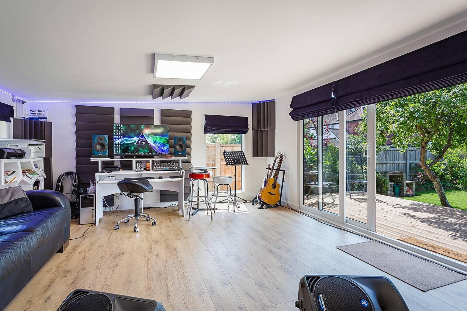 6m X 4 5m Music Studio Green Retreats