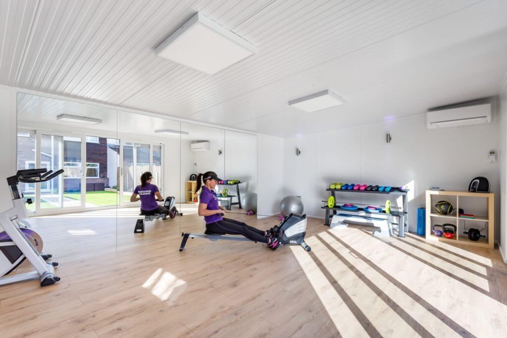 garden gym interior