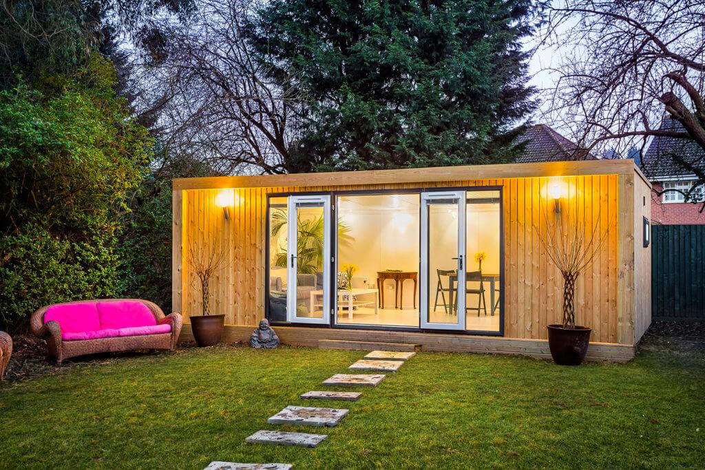 large year-round summer house