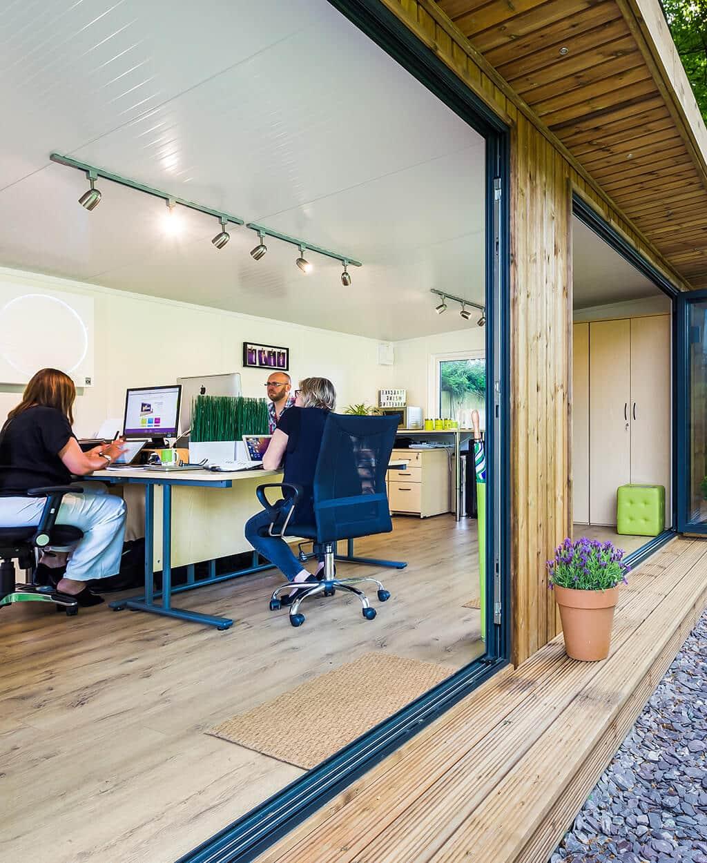 large garden office