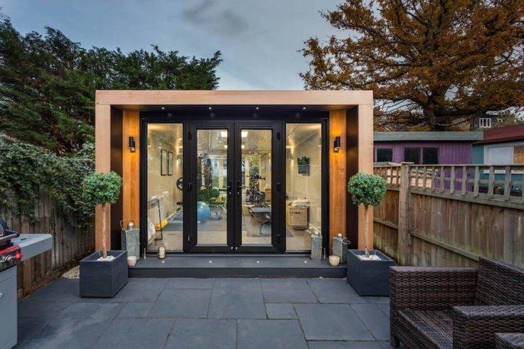Small Garden Yoga Studio