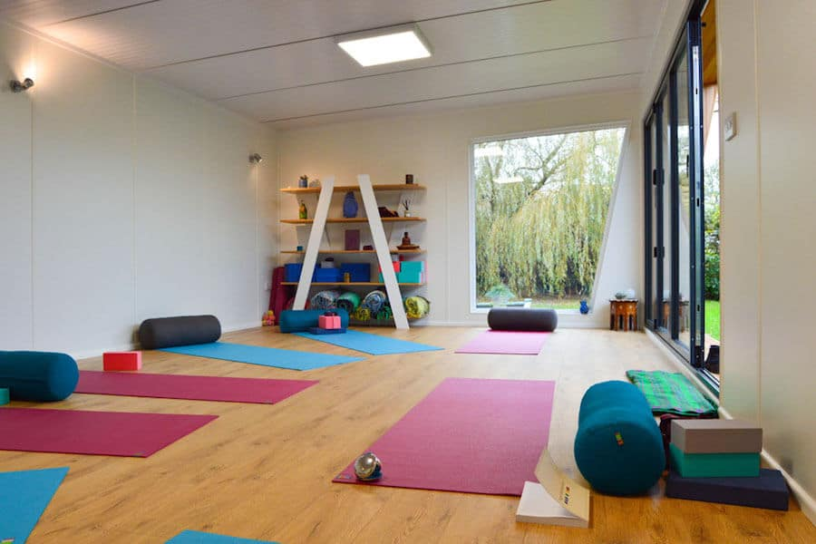 Garden Yoga Studio Interior Views