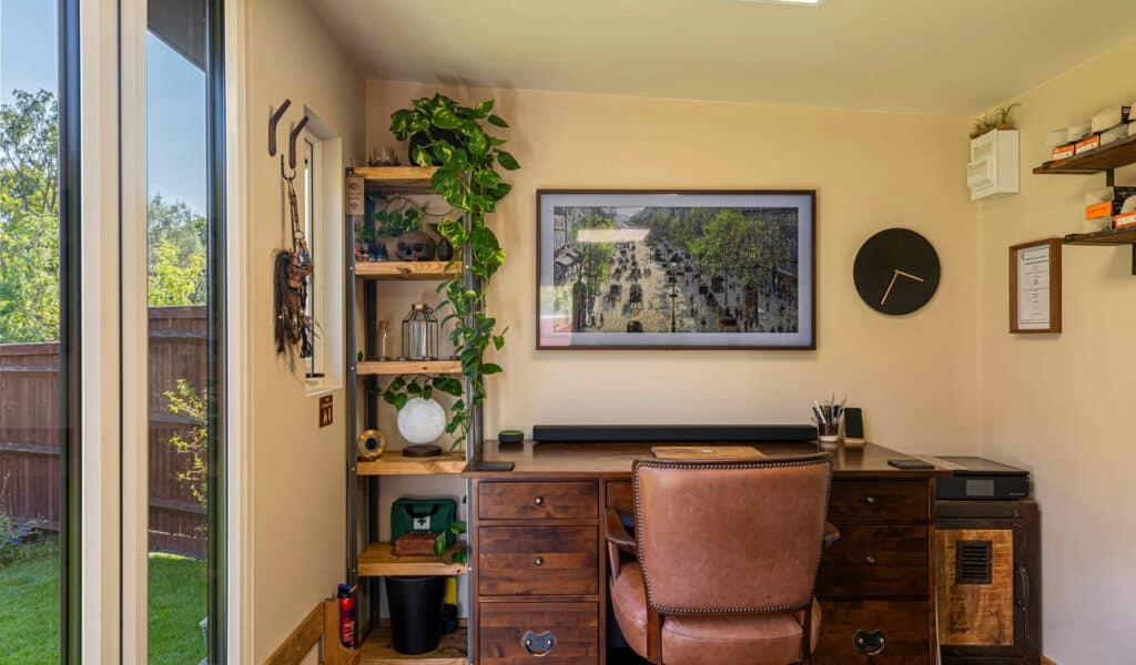 garden studio home business setup