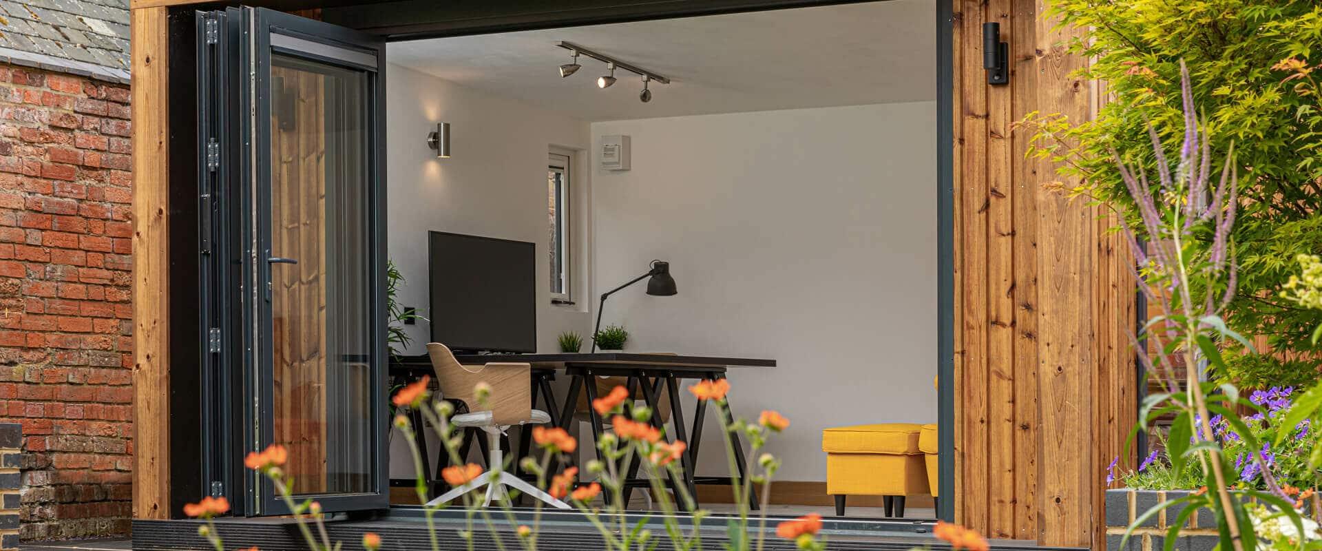 Modern Insulated Garden Office