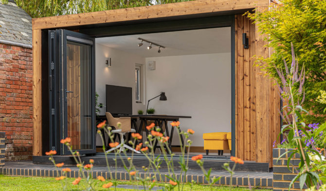 Modern Insulated Garden Office