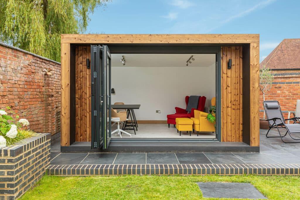 modern edge design garden room