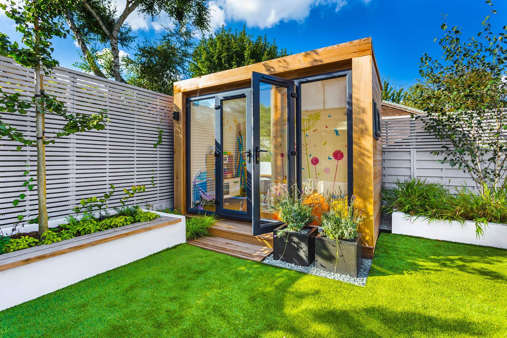garden pod playroom