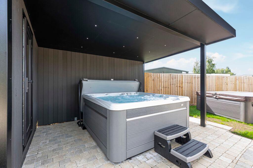 hot tub canopy enclosure