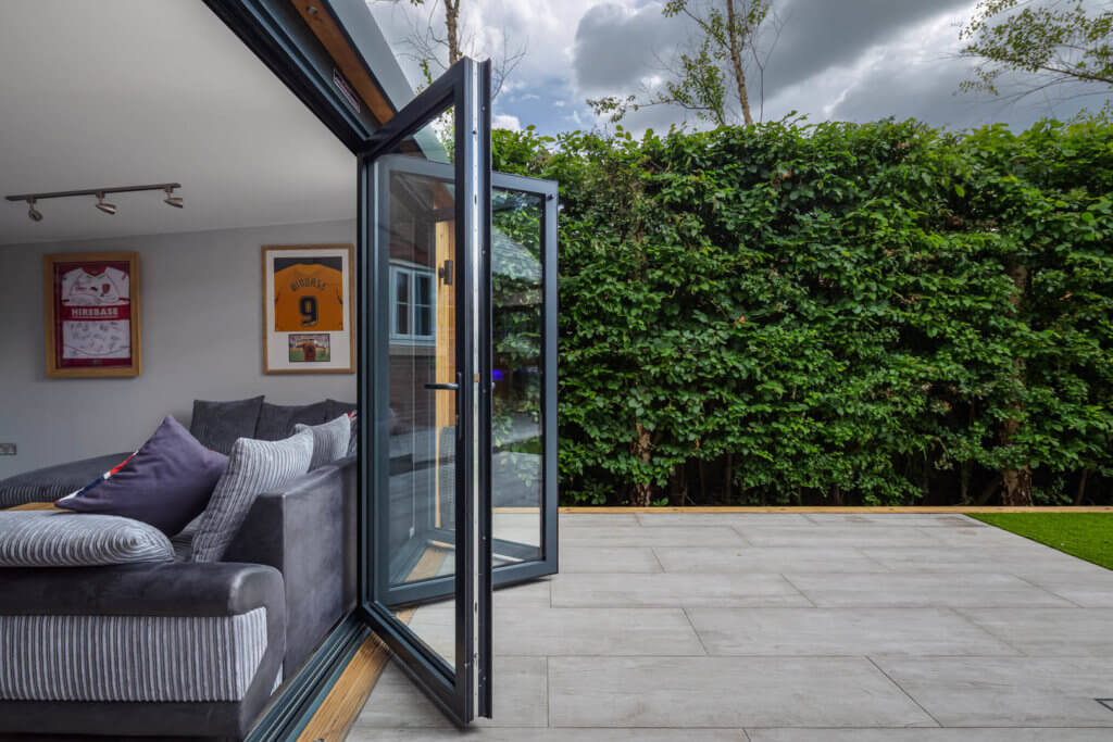 Exterior photo of Inspiration bi-fold doors