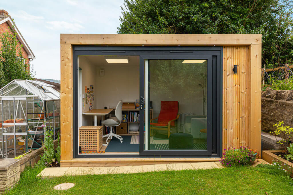 garden writing room and art studio