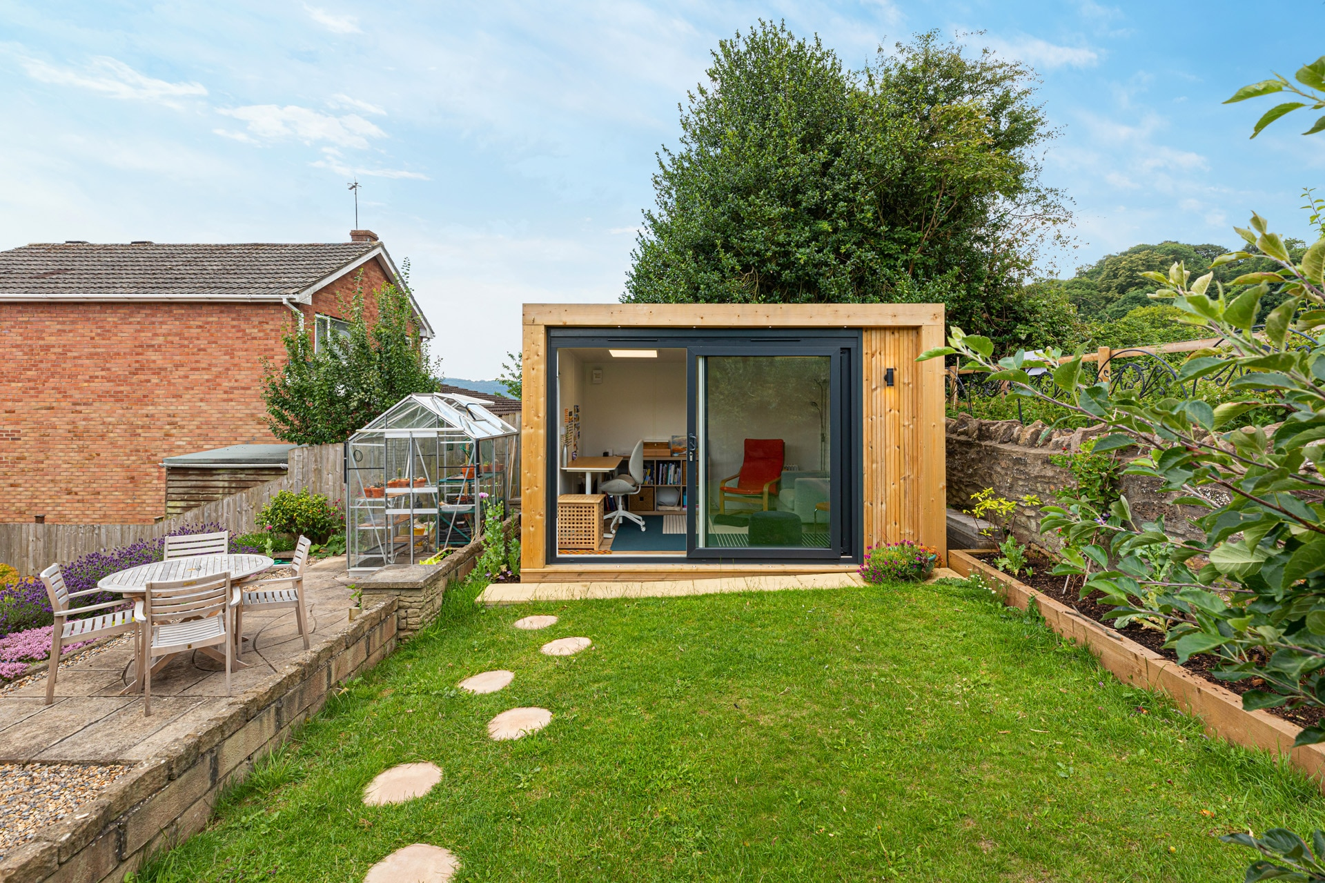 garden studio in the garden
