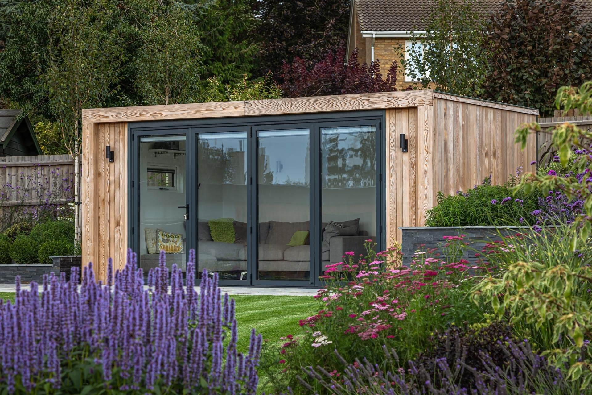 modern compact design garden room