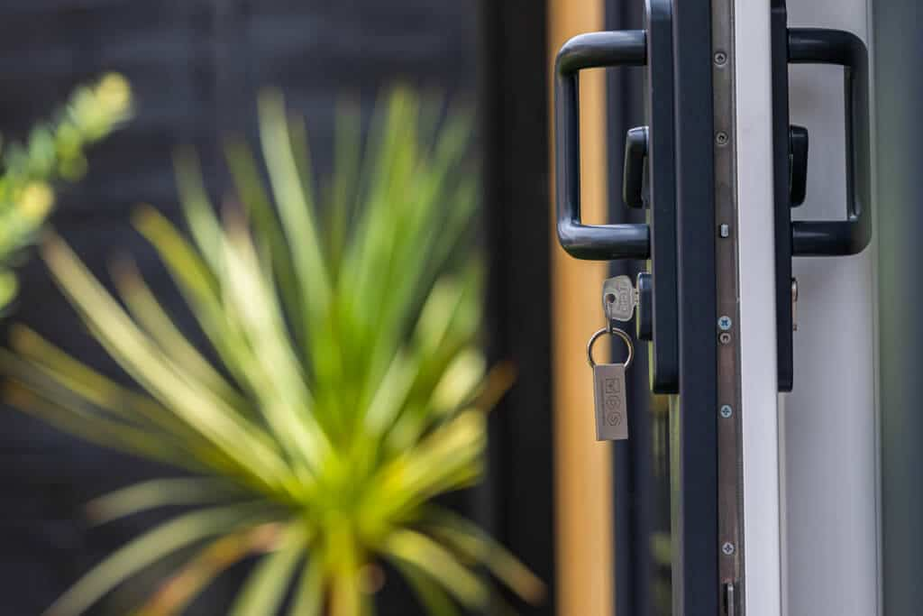 safe and secure door locking