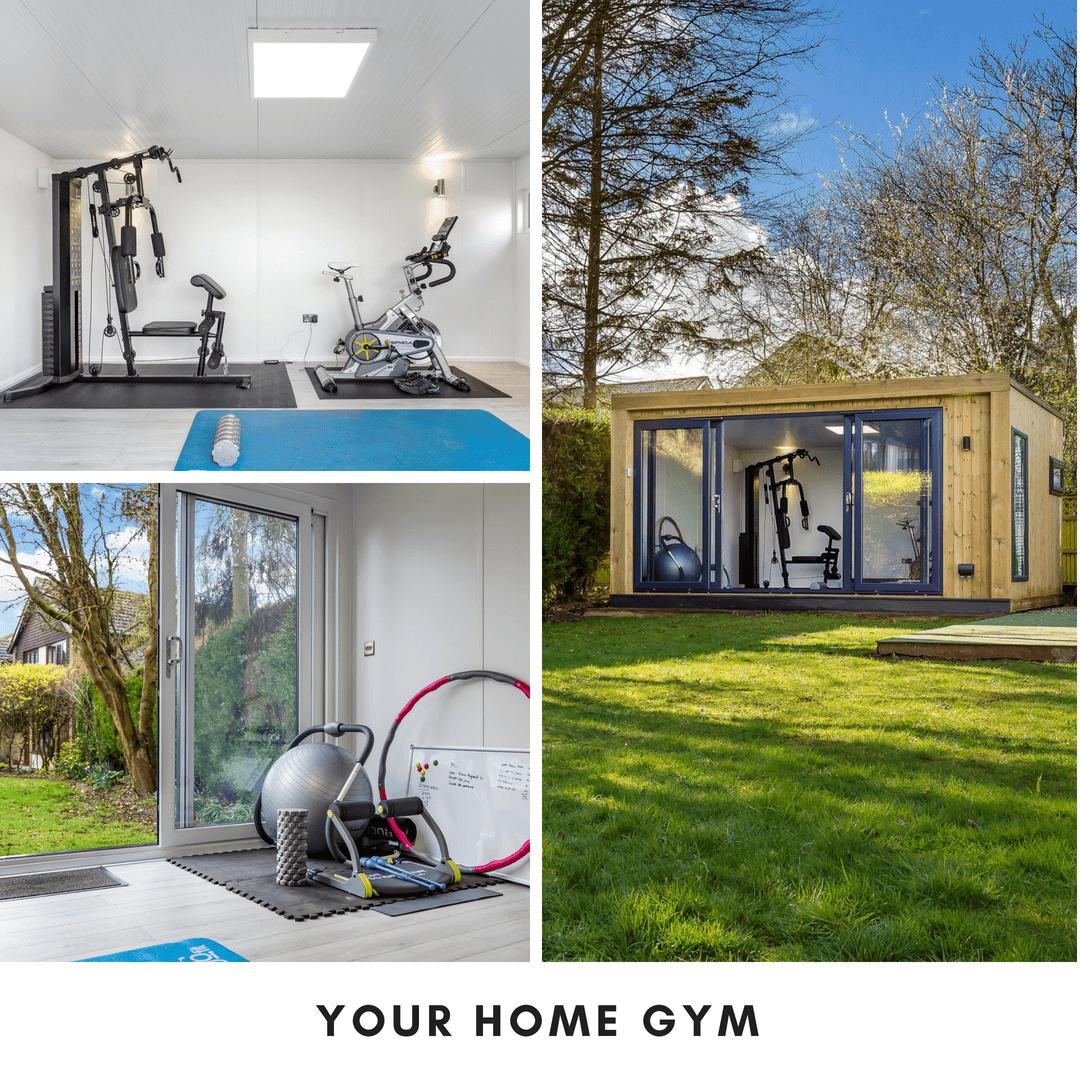 your home gym garden room
