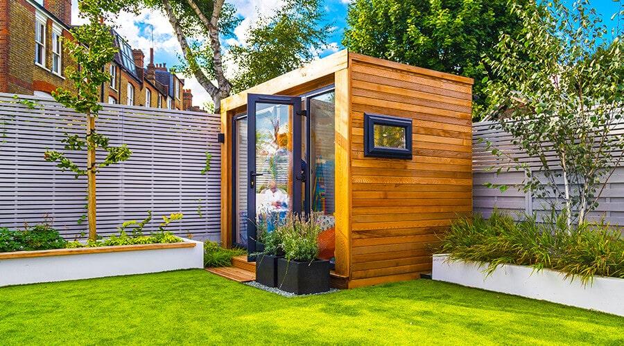 small garden playroom