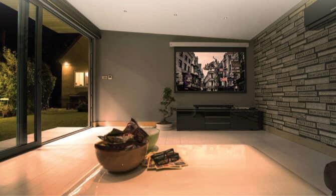 luxury cinema room