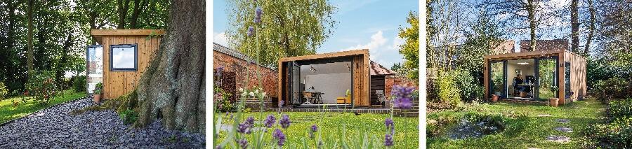 subtle garden office pods