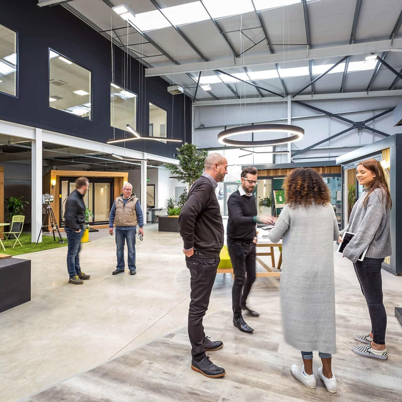 garden-room-showroom-with-customers
