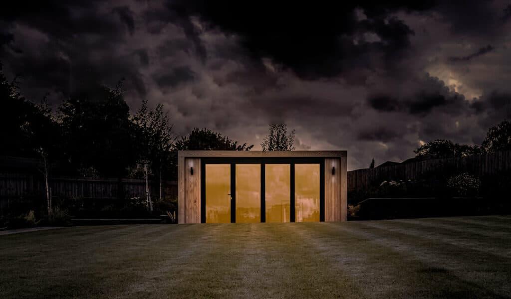 halloween garden building