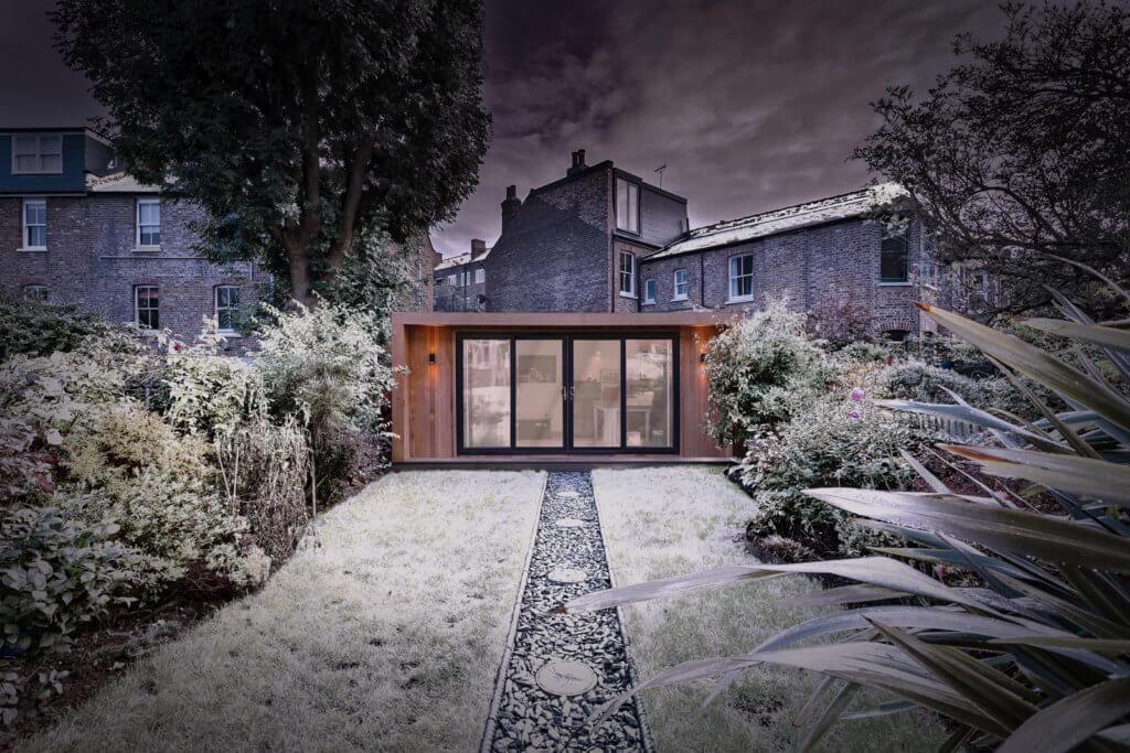 large winter garden room