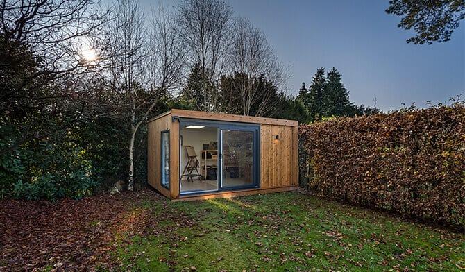 Exterior of Inspiration art studio