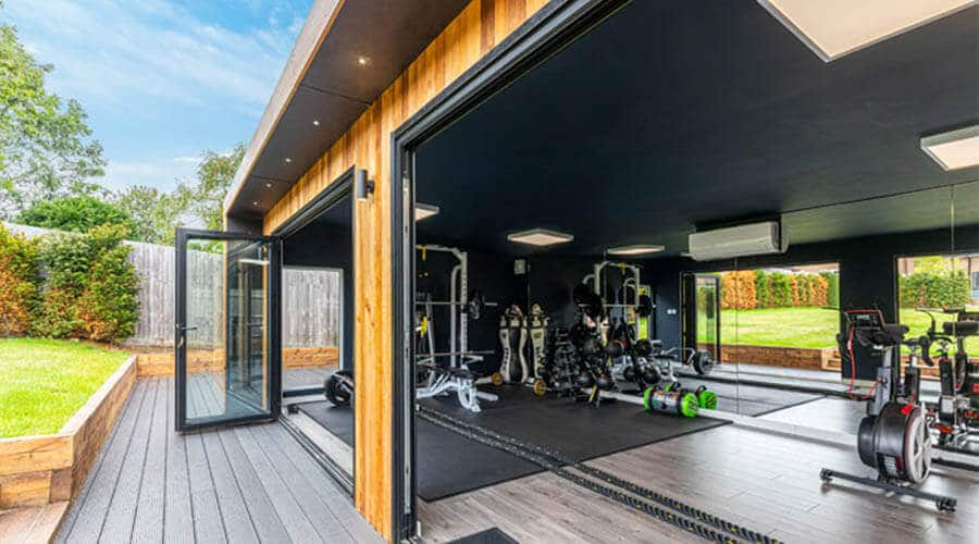 home gym edge building