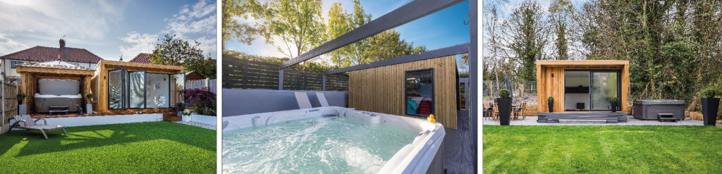 garden rooms with hot tubs