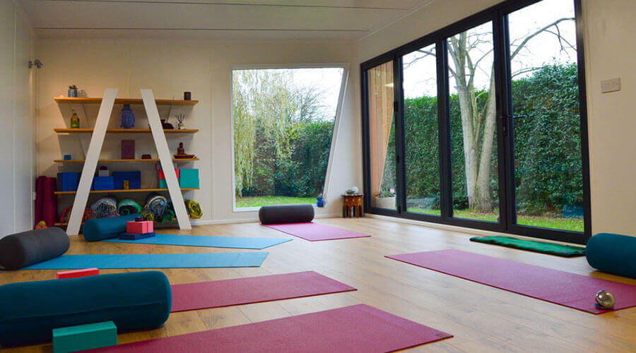 green retreats yoga pinaccle room